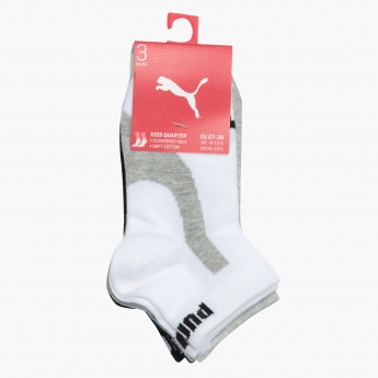 Puma Quarter Socks - Set of 3