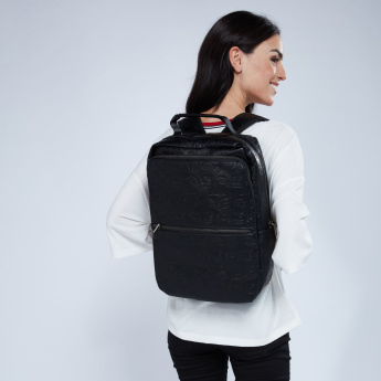 Lee Cooper Debossed Backpack