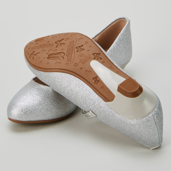Molekinha Glitter Mary Janes with Buckle Closure
