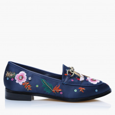 Elle Embellished Slip-On Shoes