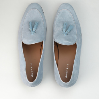 Duchini Loafers with Tassels