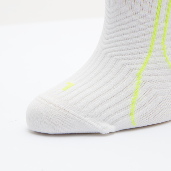 PUMA Textured Ankle Length Socks