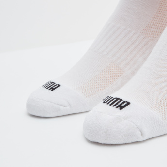 PUMA Plain Ankle Length Socks - Set of 2