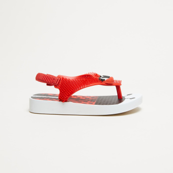 Ipanema Textured Sandals with Elasticised Backstrap
