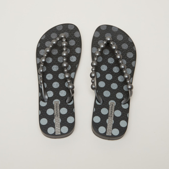 Ipanema Printed Flip Flops with Textured Footbed