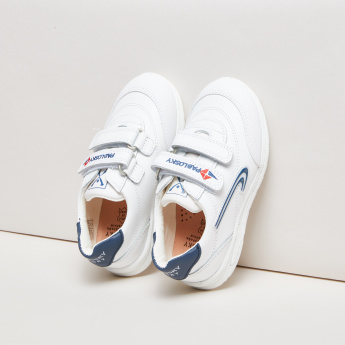 Pablosky Embroidered Sneakers with Stitch Detail