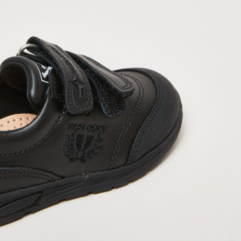 Pablosky Embroidered Shoes with Hook and Loop Closure