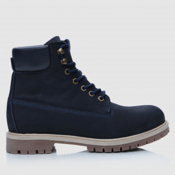Lee Cooper Lace-Up Millitary Boots