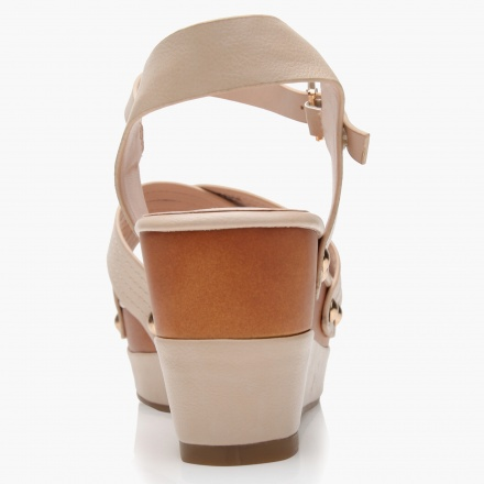 Paprika Platform Wedge Sandals