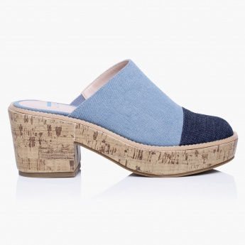 Elle Block Slip-On Shoes