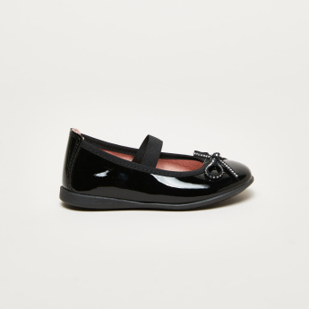 Pablosky Bow Detail Shoes with Elasticised Strap