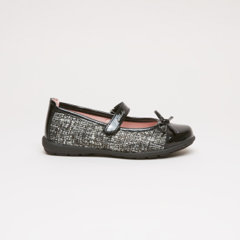 Pablosky Weave Textured Mary Jane Shoes