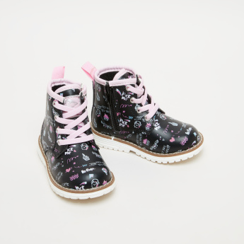 Lee Cooper Printed High Top Shoes