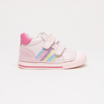 Pablosky Embroidered High Top Shoes