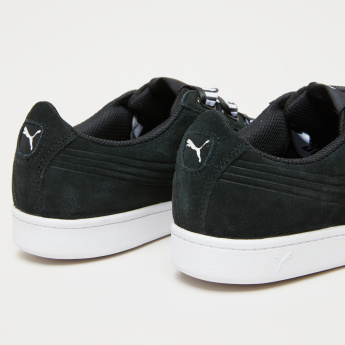 PUMA Printed Lace-Up Walking Shoes