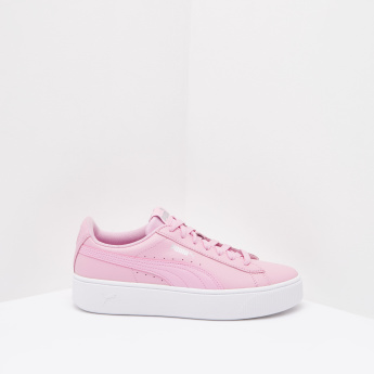 Puma Canvas with Lace-Up Closure