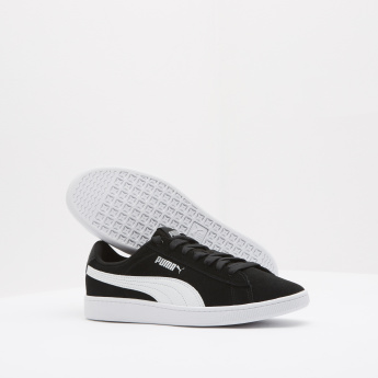 PUMA Low Ankle Sneakers with Lace-Up Closure