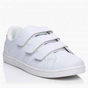 Kappa Slip-On Shoes with Hook and Loop Closure