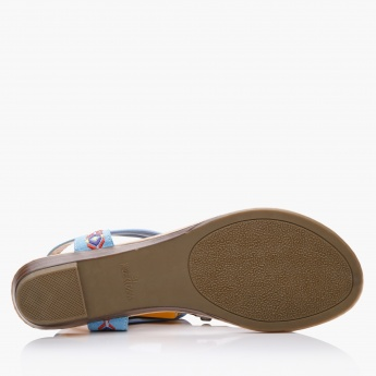 Missy Embroidered Slip-On Slippers