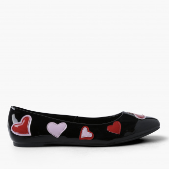 Missy Applique Detail Slip-On Shoes