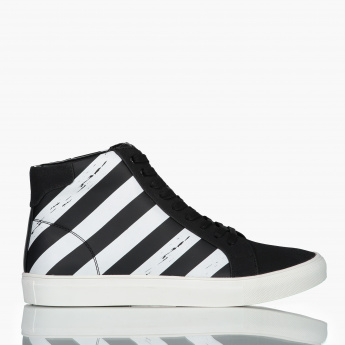 Lee Cooper Lace-Up High Top Shoes