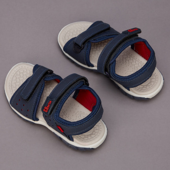 Klin Sandals with Hook and Loop Closure