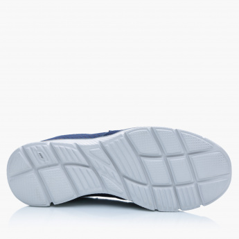 Skechers Textured Walking Slip On Shoes