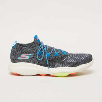 Skechers Performance Textured Lace-Up Walking Shoes