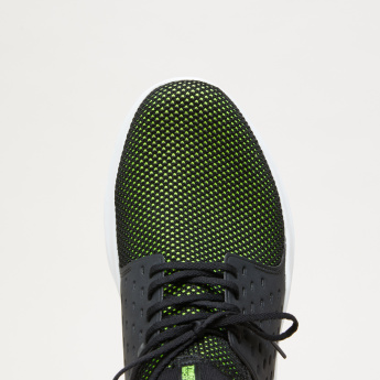 Skechers Lace-Up Shoes with Mesh Detail
