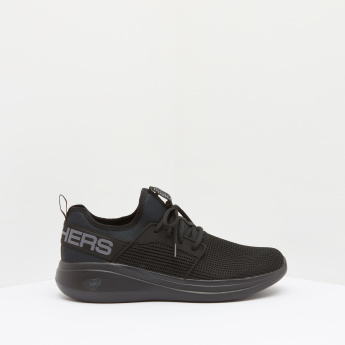 Skechers Mesh Sneakers with Lace-Up Closure