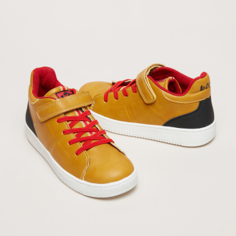 Lee Cooper Sneakers with Hook and Loop Closure