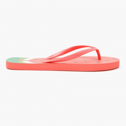 Missy Tropical Print Slippers