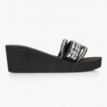 Missy Wedge Slippers