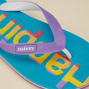 Missy Printed Thong Slippers