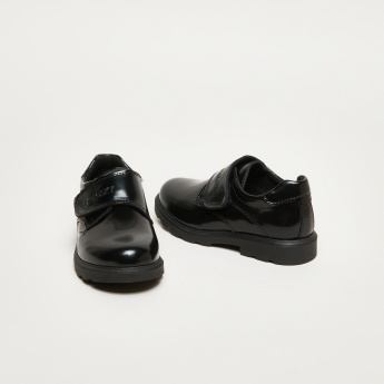 Pablosky Glossy Shoes with Hook and Loop Strap