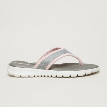 Dash Flip Flops with Textured Straps