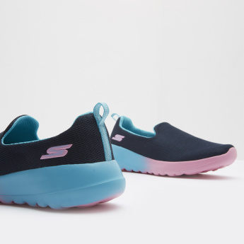 Skechers Slip-On Walking Shoes with Pull Tab