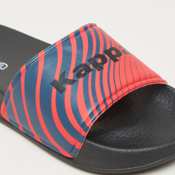 Kappa Slides with Printed Strap
