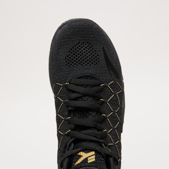 ANTA Lace-Up Textured Basketball Shoes