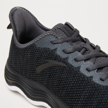 ANTA Men's Mesh Running Shoes with Lace Closure