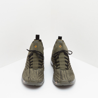 ANTA Lace-Up Sneakers with Lace-Up Closure