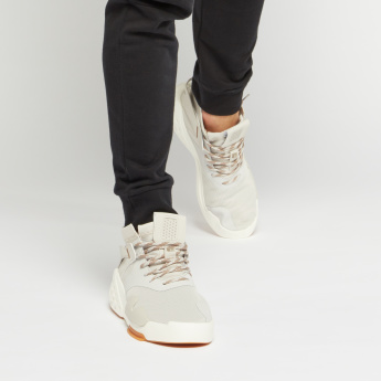 ANTA High-Cut Sneakers with Lace-Up Closure