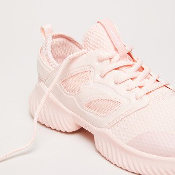 ANTA Running Shoes with Lace-Up