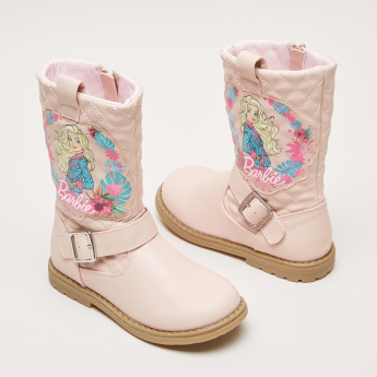 Barbie Printed High Top Shoes
