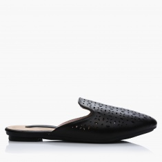 Paprika Laser Cut Slip-On Shoes