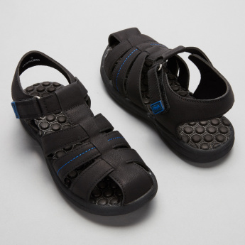 #tag18. Fisherman Sandals with Hook and Loop Closure