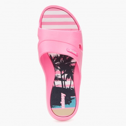 Missy Beach Print Slippers