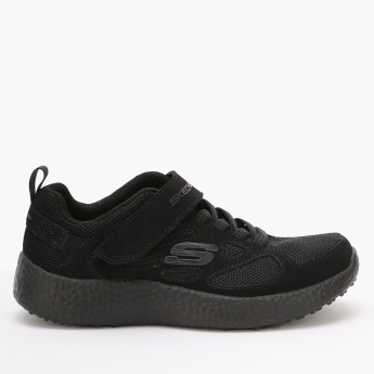 Skechers Lace-Up Running Shoes with Hook and Loop Closure