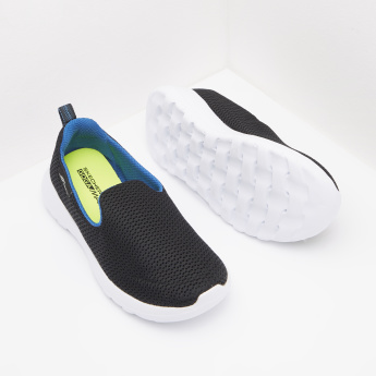 Skechers Mesh Panelled Sneakers with Slip-On Closure