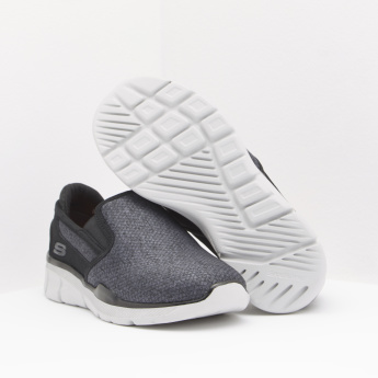 Skechers Textured Sneakers with Slip-On Closure
